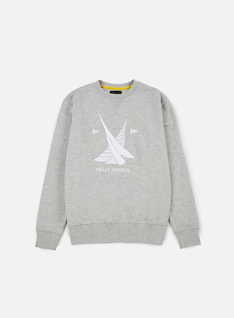 felpe helly hansen hh crewneck light grey