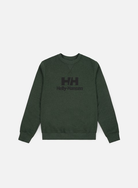 Sale Outlet Crewneck Sweatshirts Helly Hansen HH Rubber Logo Crewneck
