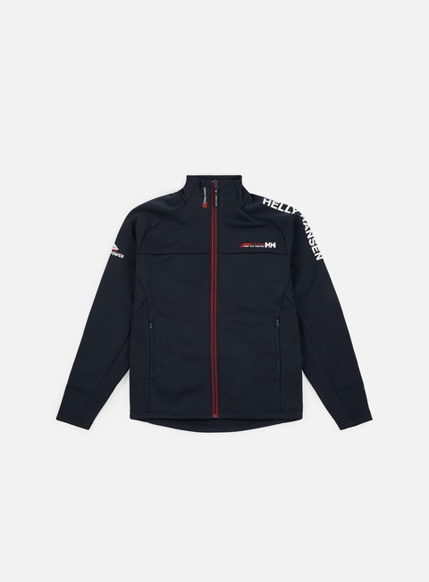 felpe helly hansen hp fleece jacket navy