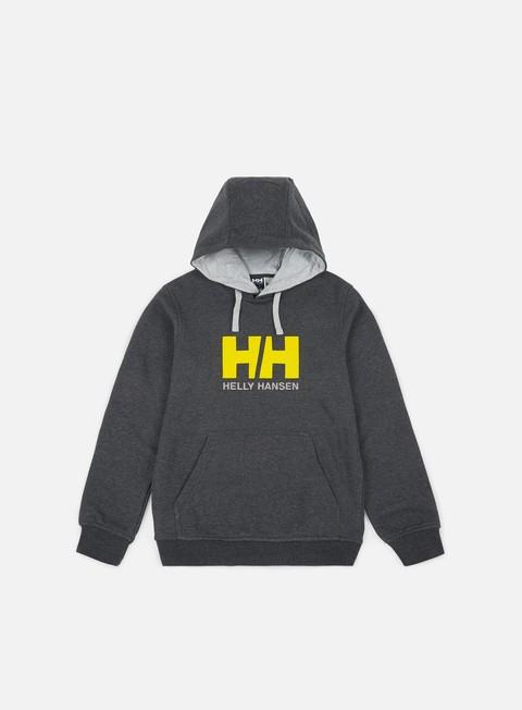 Outlet e Saldi Felpe con Cappuccio Helly Hansen Logo Hoodie