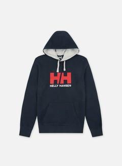 Helly Hansen - Logo Hoodie, Navy
