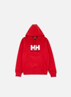 Helly Hansen - Logo Hoodie, Red 1