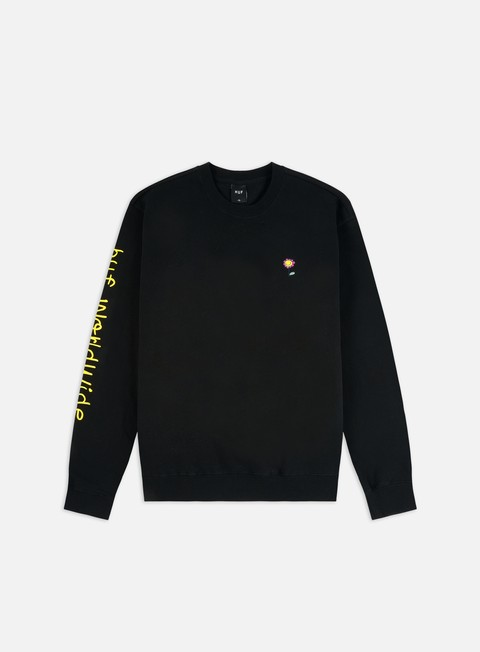 Felpe Girocollo Huf Anxiety And Depression TT Crewneck