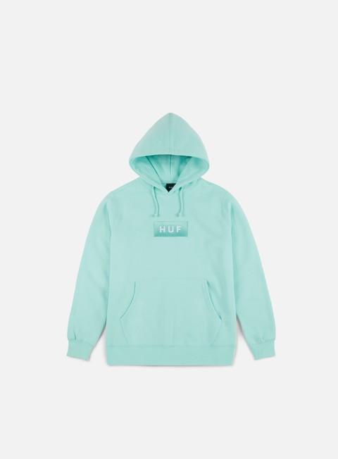 felpe huf bar logo pullover hoodie celadon