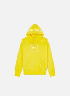 Huf - Box Logo Hoodie, Aurora Yellow
