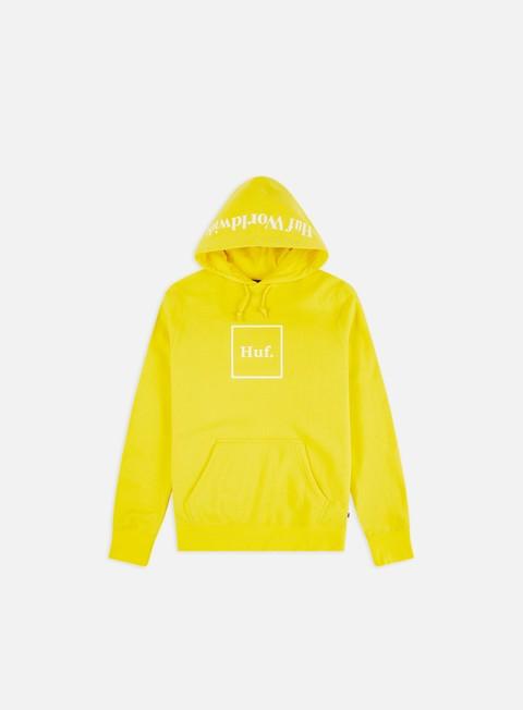 Felpe con Cappuccio Huf Box Logo Hoodie