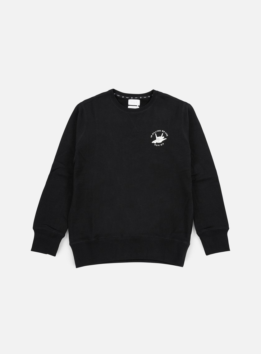 Huf - Cleon Crewneck, Black