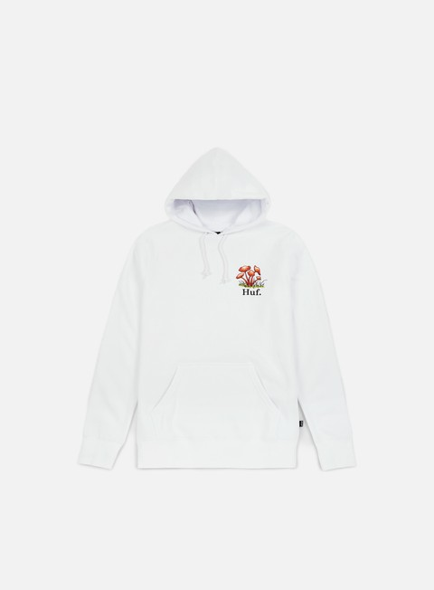felpe huf don t trip hoodie white