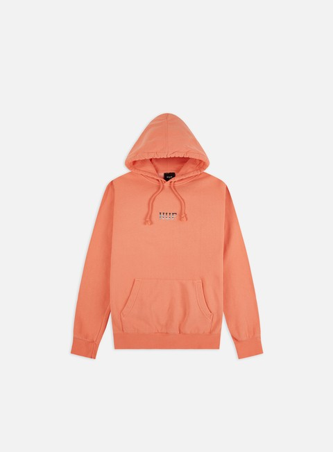 Felpe con Cappuccio Huf Ember Rose Classic H Hoodie