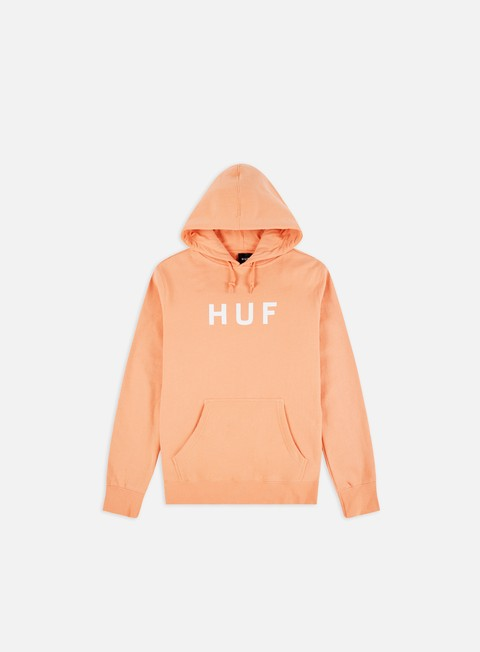 Felpe con Cappuccio Huf Essential OG Logo Hoodie