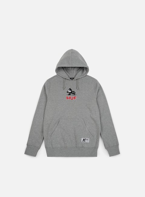 felpe huf felix skate pullover hoodie athletic grey