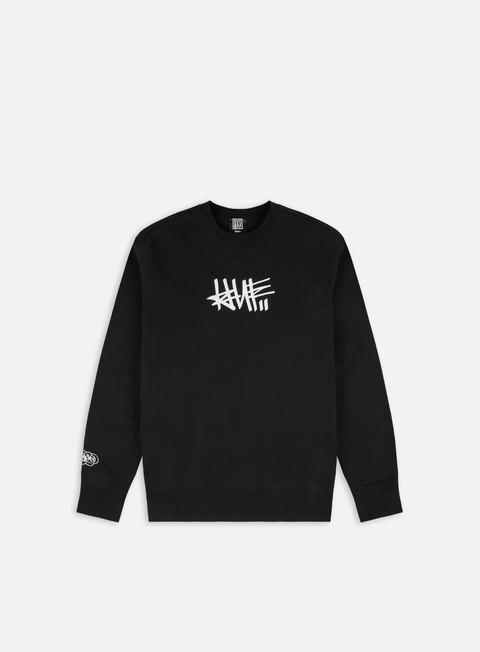 Crewneck Sweatshirts Huf Haze Handstyle 1 Crewneck