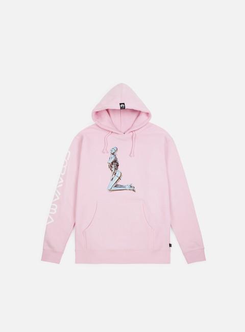 felpe huf huf x sorayama hoodie pink