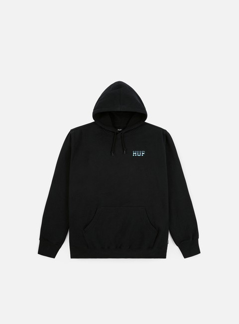 Hooded Sweatshirts Huf Ice Rose Classic H Pullover Hoodie