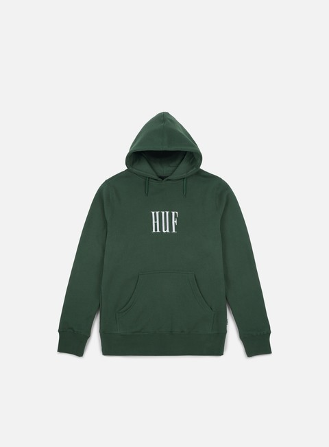 felpe huf marka hoodie green