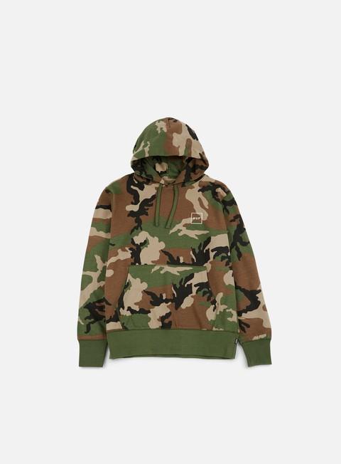 felpe huf milton hoodie woodland camo