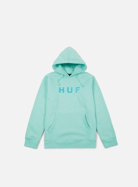 felpe huf og logo hoodie celadon