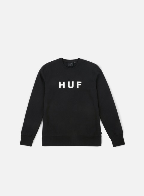 Sale Outlet Crewneck Sweatshirts Huf Original Logo Crewneck