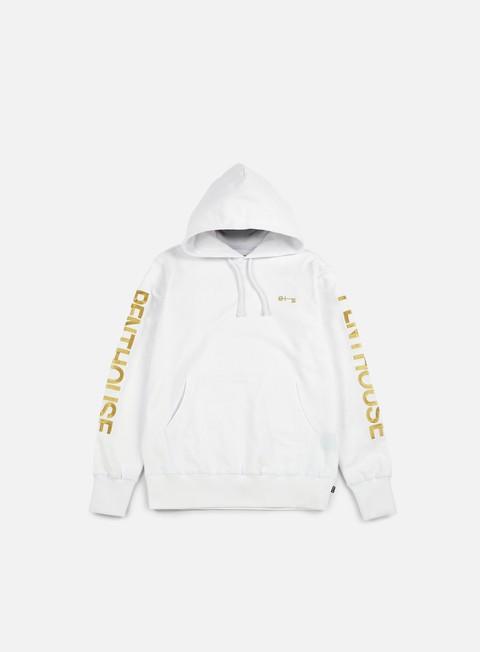 felpe huf penthouse pullover hood white