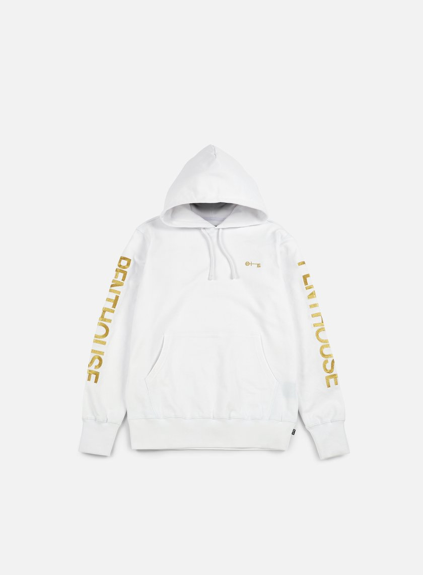 Huf - Penthouse Pullover Hood, White