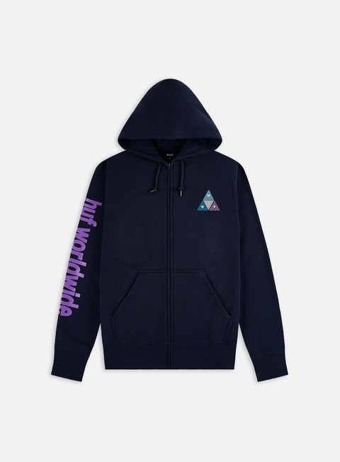 Hoodie Huf Prism TT Full Zip Hoodie