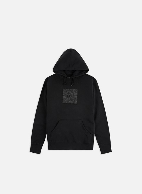 Hooded Sweatshirts Huf Quake Box Logo Hoodie
