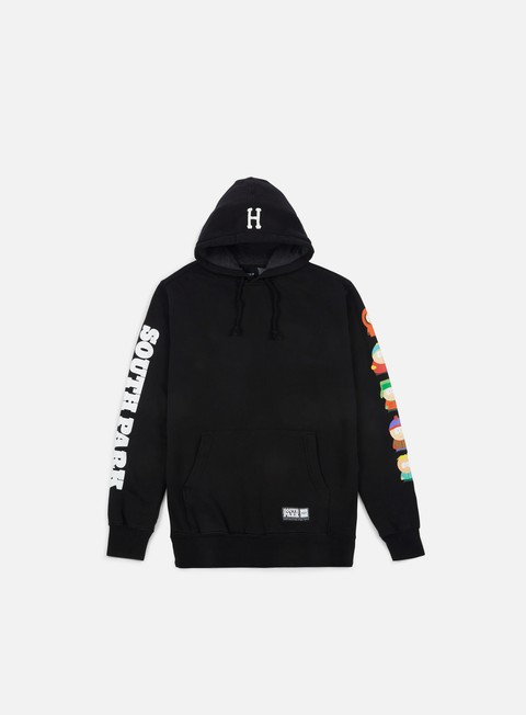 felpe huf south park kids hoodie black