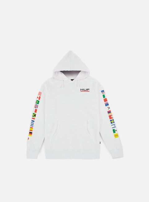 felpe huf stadium united hoodie white