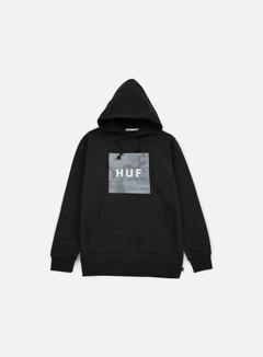 Huf - Street Ops Box Logo Hoodie, Black 1