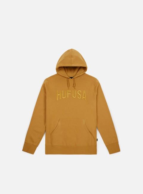 Outlet e Saldi Felpe con Cappuccio Huf Team Logo Hoodie
