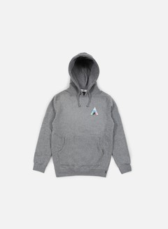 Huf - Triangle Prism Hoodie, Grey Heather 1