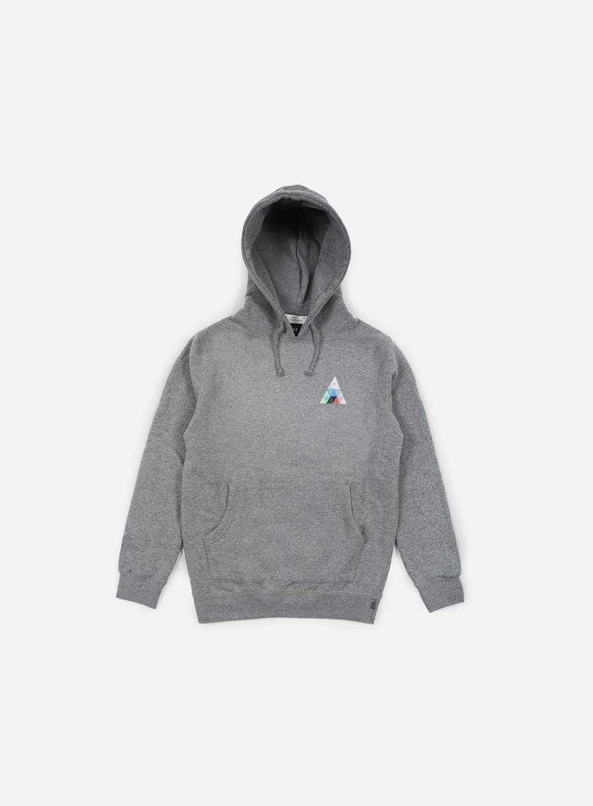 Huf - Triangle Prism Hoodie, Grey Heather