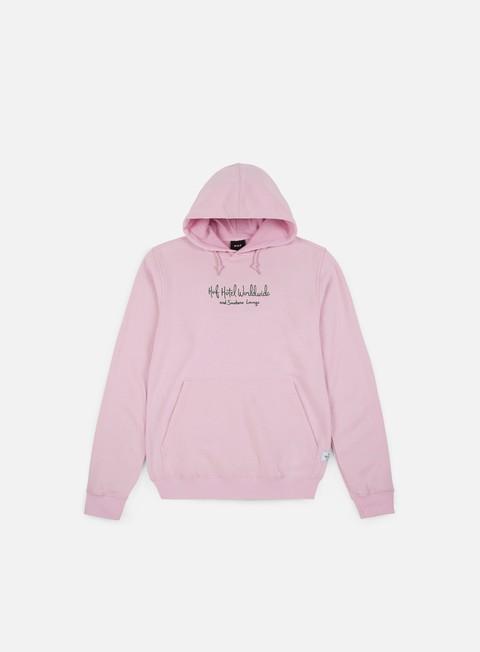 felpe huf tropical plants hoodie pink