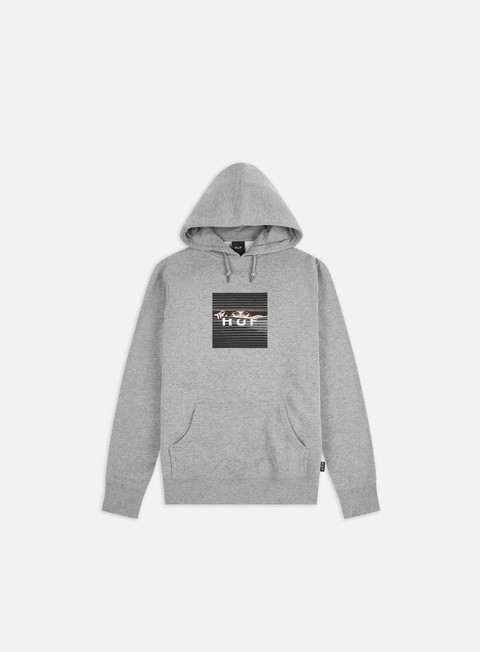 Sale Outlet Hooded Sweatshirts Huf Voyeur Box Logo Hoodie