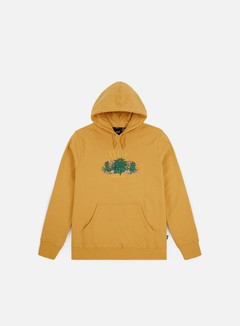 Huf - Wild Flowers Pullover Hoodie, Mineral Yellow