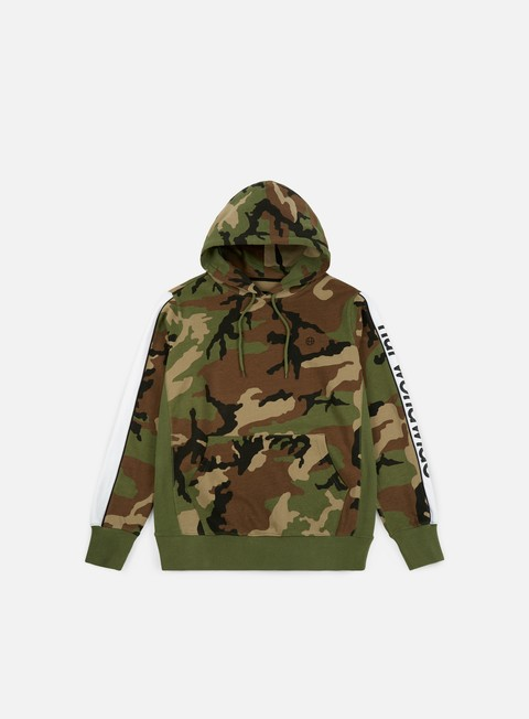 felpe huf worldwide pullover hoodie woodland camo