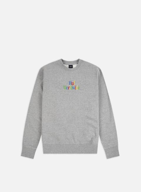 Sale Outlet Crewneck Sweatshirts Huf Woz Crewneck