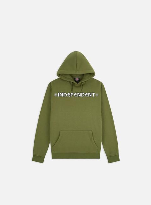 Hooded Sweatshirts Independent Bar Cross Hoodie