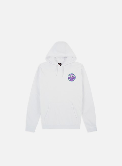 Felpe con Cappuccio Independent Purple Chrome Hoodie