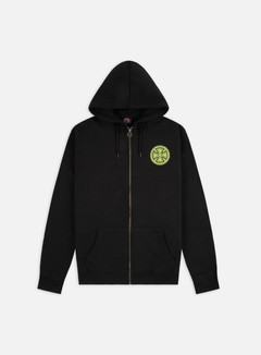 Independent - Stained Glass Zip Hoodie, Black