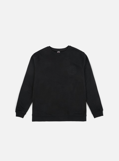 felpe independent tonal truck co crewneck black