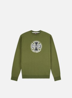 Independent - Truck Co. Crewneck, Army Green