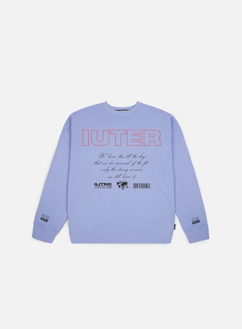 Outlet e Saldi Felpe Girocollo Iuter Bad Company Drop Crewneck