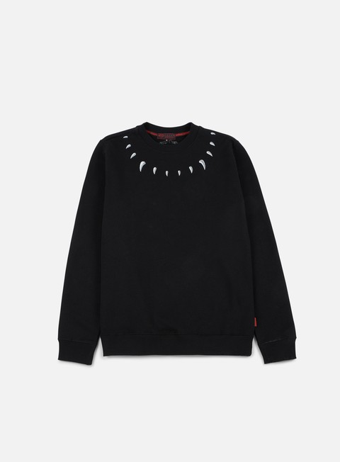 felpe iuter claws crewneck black