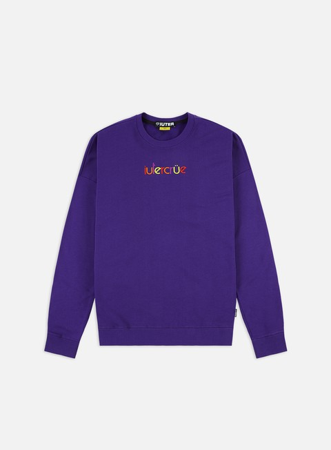 Crewneck Sweatshirts Iuter Colours Crewneck