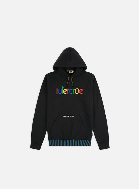 Hooded Sweatshirts Iuter Colours Hoodie