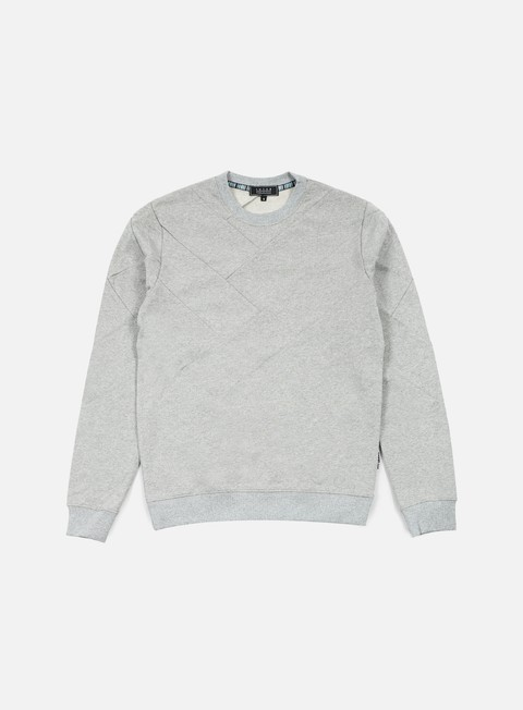 felpe iuter demiparquet crewneck light grey