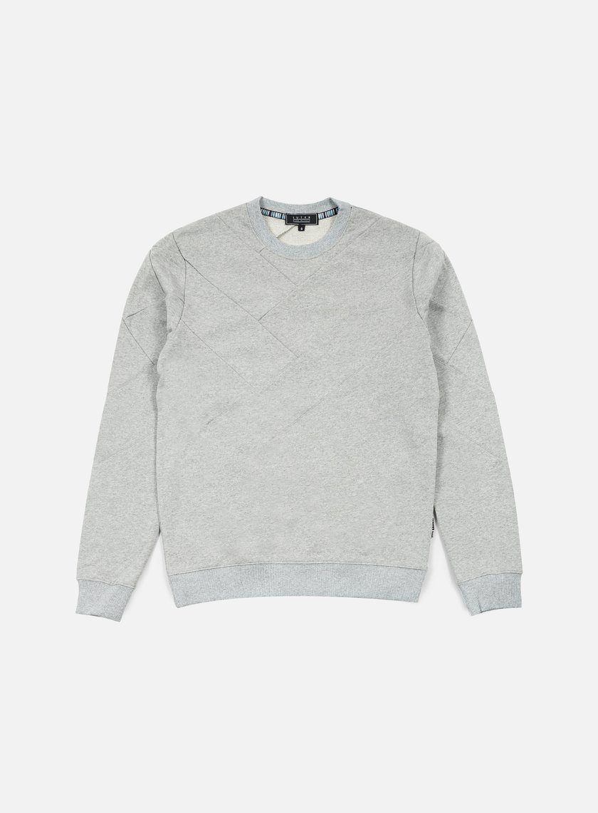 Iuter - Demiparquet Crewneck, Light Grey