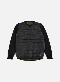 Iuter - Down Quilted Crewneck, Black