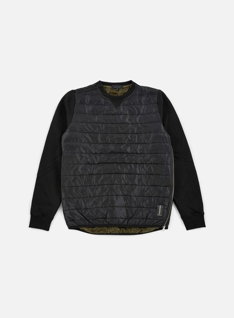 Iuter Down Quilted Crewneck